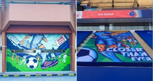 Closer Than Ever – Mumbai City FC unveil specially curated mural & banner!