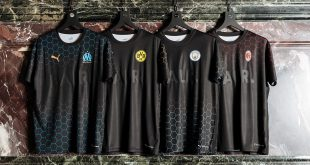 PUMA X BALR collection ft. AC Milan, Man City, BVB & Olympique Marseille!
