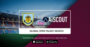 Burnley FC launch Global Talent Search with AiSCOUT!