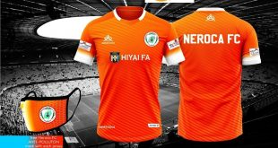 NEROCA & Ambition Sportswear launch their 2020/21 I-League home kit!