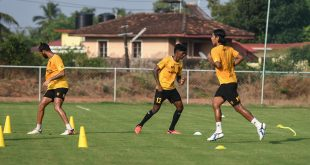 Hyderabad FC prepare to take on leaders Mumbai City FC!