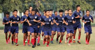 Indian Arrows raring to go ahead of I-League clash against NEROCA FC!