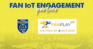 FanPlay join Kerala Blasters roster as official fan IoT engagement partner!