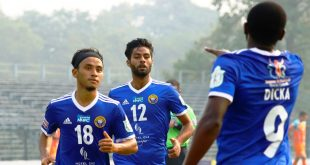 Real Kashmir FC overcome Chennai City FC in their I-League encounter!