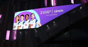 cinch becomes Tottenham Hotspur's Official Sleeve Partner!