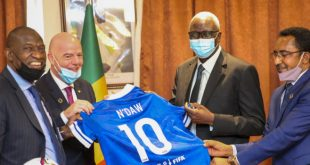 Message of unity, peace and solidarity in FIFA's Mali visit!