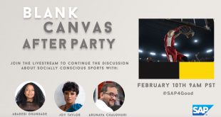 Catch me on Wednesday, February 10 on the #BlankCanvas #AfterParty!
