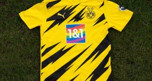 Borussia Dortmund & 1&1 raise a colourful flag for diversity!