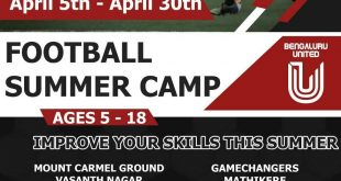 FC Bengaluru United to organise Football Summer Camps!