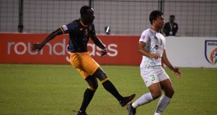 Papa Diawara header against NEROCA seals victory for RG Punjab FC!
