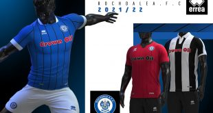 Errea launch Rochdale AFC's 2021/22 season kits!
