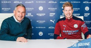 Manchester City & Kevin De Bruyne extend contract until 2025!