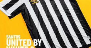 UMBRO launch Santos FC 2021/22 home & away jerseys!