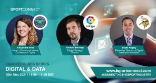 iSportConnect's Digital & Data eMasterclass: LaLiga, Minnesota Vikings & AELTC confirmed as speakers!