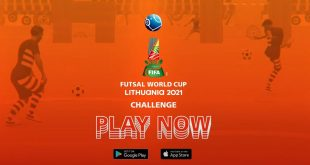 2021 FIFA Futsal World Cup Challenge mobile game launches!