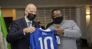 Football's unifying power tops agenda during Sierra Leone visit!