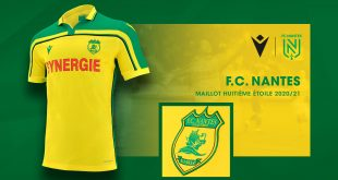 Macron recreates special shirt for FC Nantes for 20 year Ligue 1 triumph!