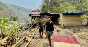 Jeje Lalpekhlua stands watch with locals to stop overfishing in Mizoram!