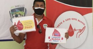 Nirmal Chettri organizes blood donation camp to aid hometown's battle against COVID-19!