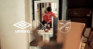 UMBRO & TSV Kottern – Our Game never stops!