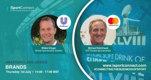 Mastercard & Unilever to join iSportConnect's Brands Masterclass!