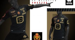KV Mechelen present Errea-made 2021/22 season away kit!