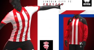Errea & Lincoln City FC launch the new 2021/22 home kit!