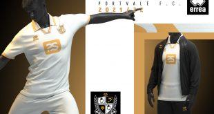 Errea & Port Vale FC launch the new 2021/22 home kit!