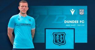 Macron launch Dundee FC's new neon sky blue away kit!