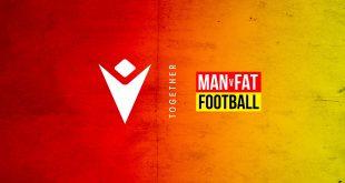Macron named official partner of MAN v FAT Football initiative!