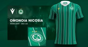 Macron & Cyprus champions Omonoia FC unveil 2021/22 home kit!