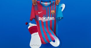 Modern-day style, time-tested values guide FC Barcelona's home kit by Nike!