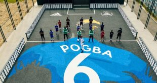adidas launch the Paul Pogba-branded 'Playground of Possibilities' in Roissy-en-Brie!