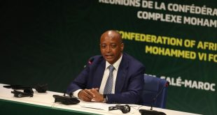 CAF president statement on hosting the FIFA World Cup every two years!