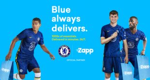 Zapp partners with Chelsea FC, delivering thousands of fan favourites in minutes, 24/7!