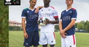 Official 2021/22 kits created by Errea Sports for Lega Pro teams are unveiled!