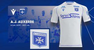 Macron & AJ Auxerre unveil new 2021/22 season home kit!