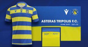 Asteras Tripolis FC pay homage to their history through new Macron home kit!