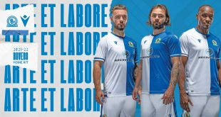 Colours & Symbols of 146 years of history in new Blackburn Rovers home kit by Macron!