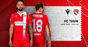 FC Thun & Macron unveil the new kits for the 2021/22 season!
