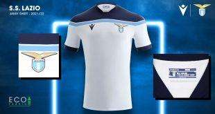 White dominates Lazio Roma's new Macron-made away kit!