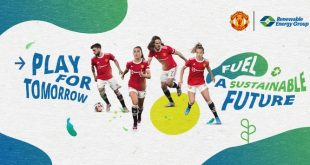 Manchester United team up with Renewable Energy Group!