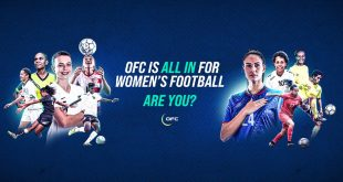 Oceania Football Confederation are ALL IN with their first women's football strategy!