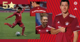adidas & Bayern Munich launch 2021/22 season home kit with a new fifth star!