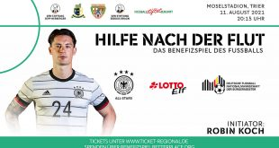 DFB All-Stars to play a charity match in Trier for flood victims!