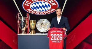 Leon Goretzka extends Bayern Munich contract until 2026!