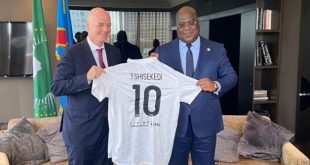 Ongoing cooperation highlights FIFA-African Union discussions!