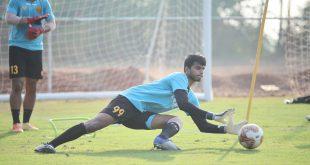 Hyderabad FC goalkeeper Manas Dubey joins TRAU FC on loan!