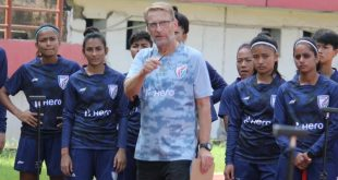 Thomas Dennerby praises Jharkhand Government as India Women prepare for 2022 AFC Women's Asian Cup!