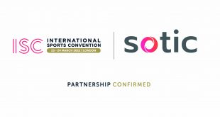 Sotic announced as Event Partner at International Sports Convention 2022!